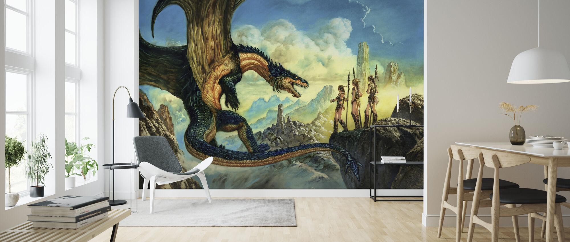 Aliance - Papel pintado - Salón