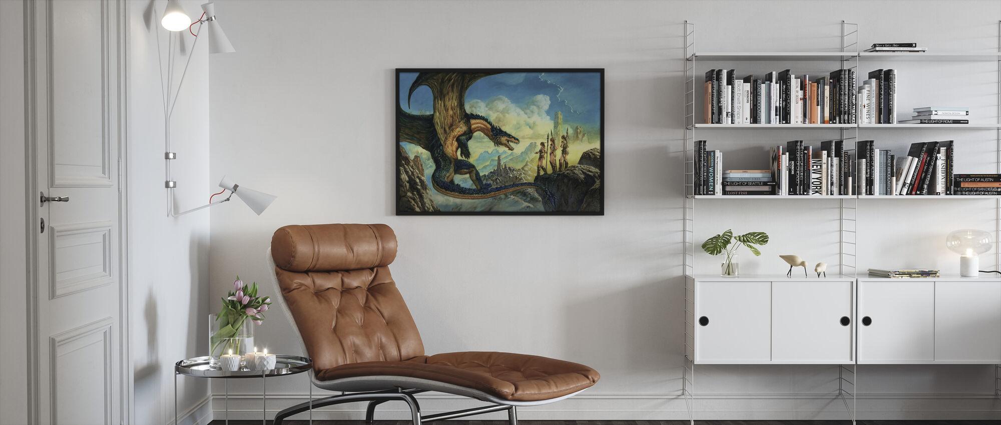 Aliance - Framed print - Living Room