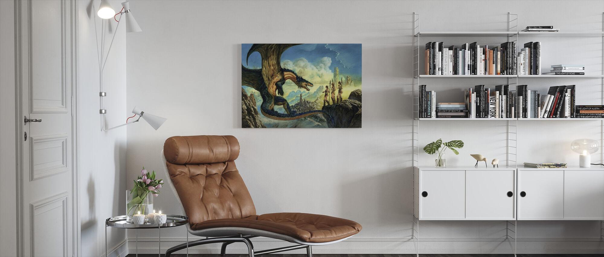 Aliance - Canvas print - Living Room