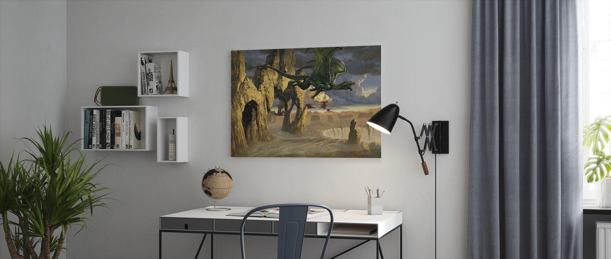 Exodux - Canvas print - Office