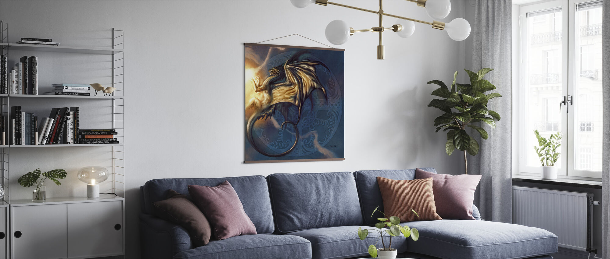 Dragon - Poster - Living Room