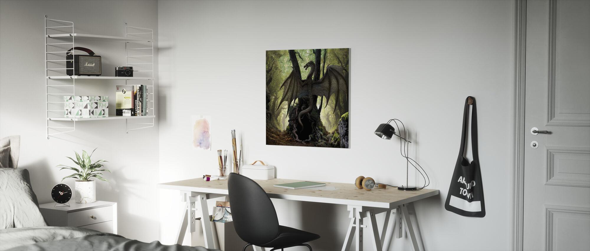 Cave - Canvas print - Kids Room