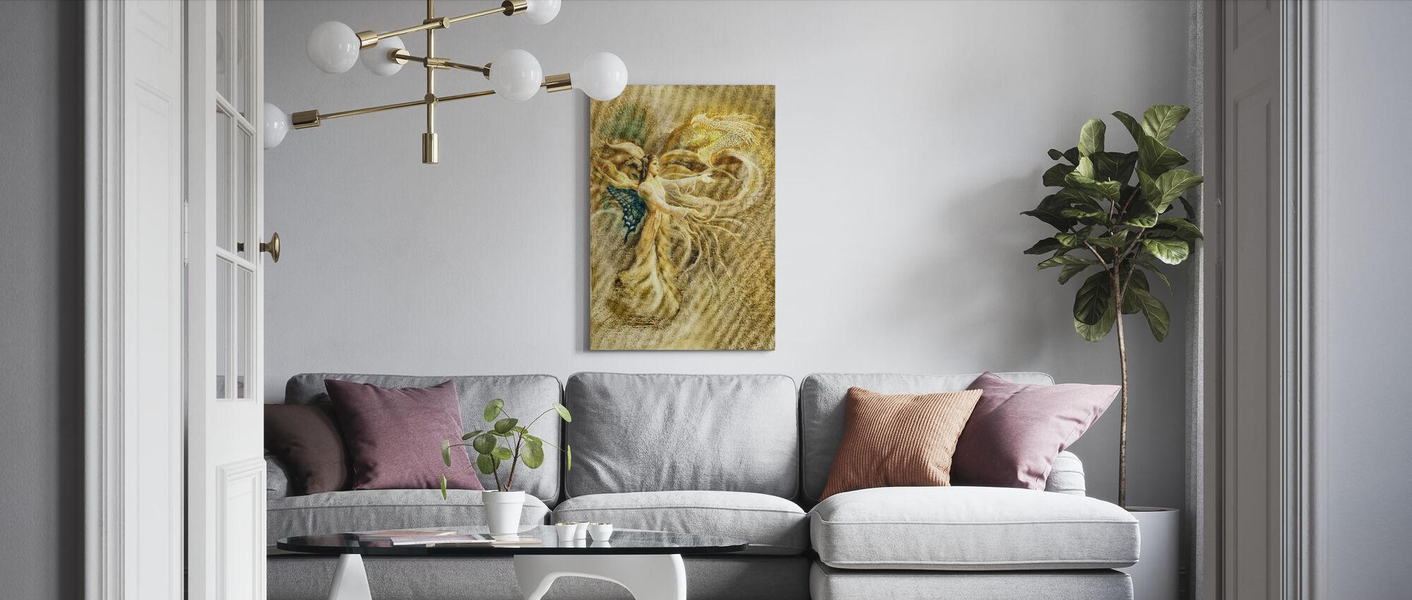 Hawap - Canvas print - Living Room