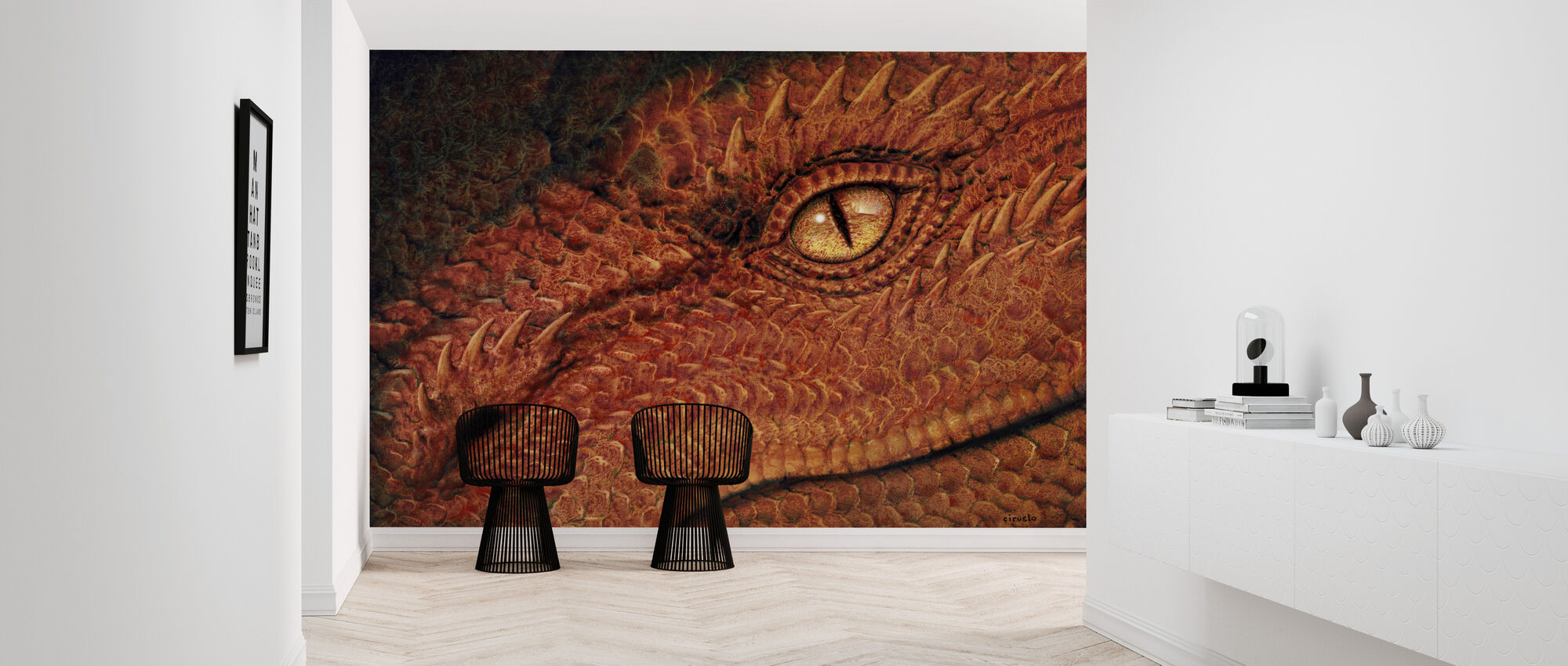 Dragon Eye - Tapet - Hall