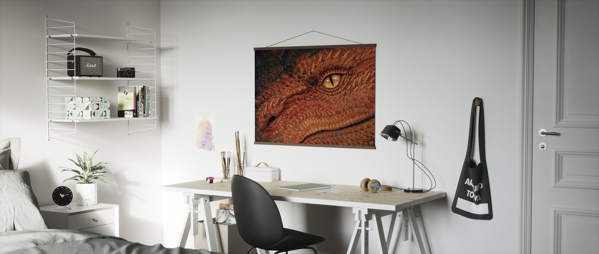 Dragon Eye - Poster - Office