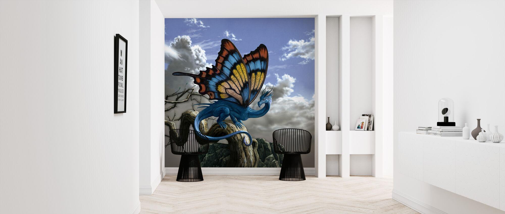 Drakerfly - Wallpaper - Hallway