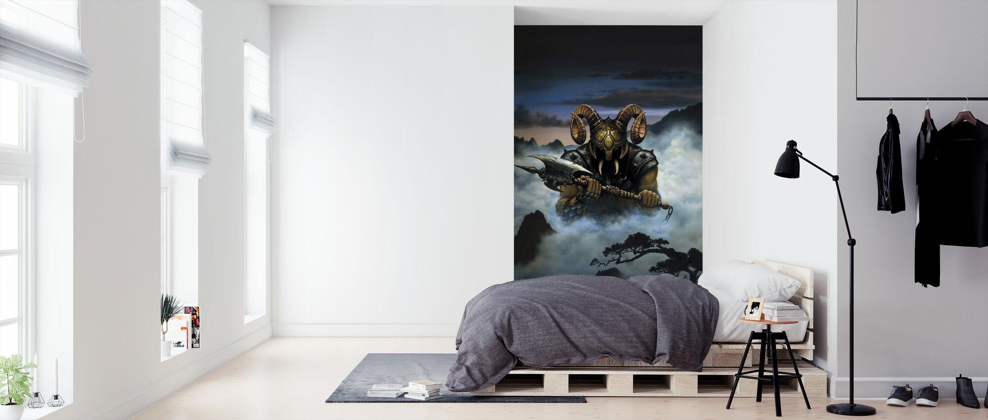 Demon - Wallpaper - Bedroom