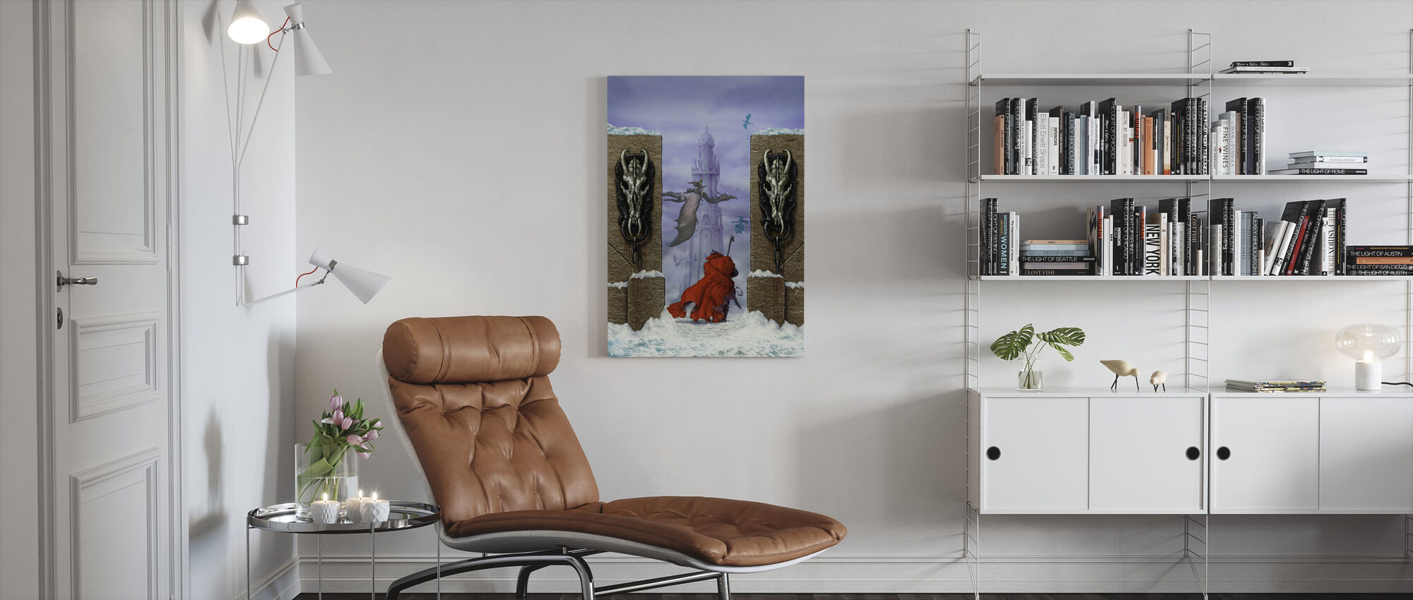 Dungeon - Canvas print - Living Room