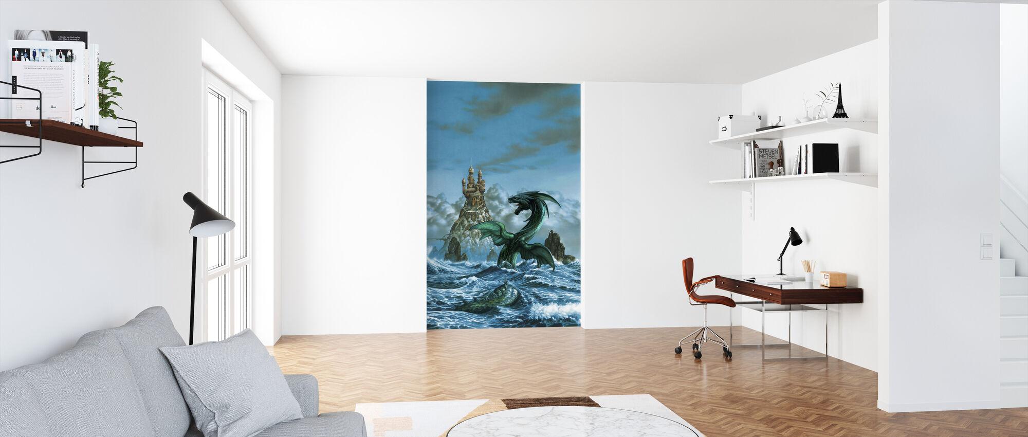 Dragon Mar - Tapet - Kontor