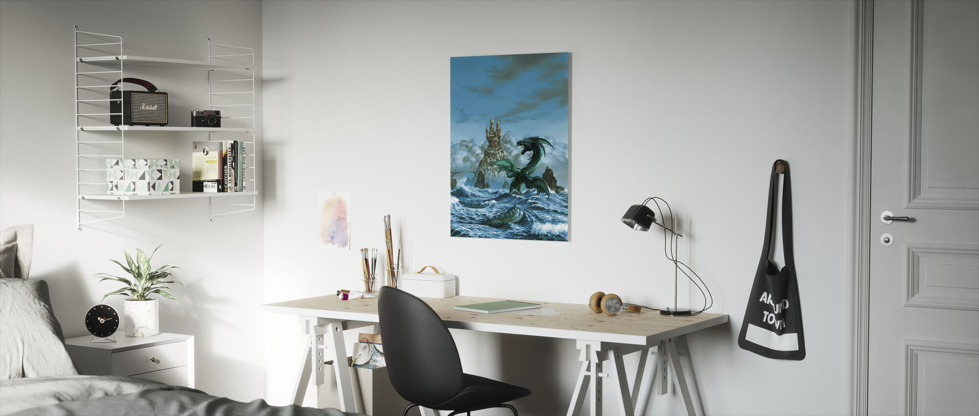 Dragon Mar - Canvas print - Kids Room