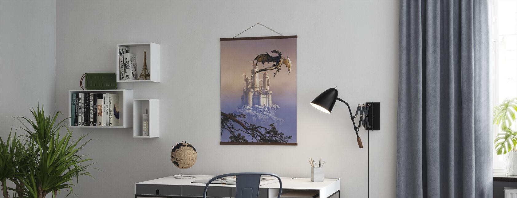 Vliegende draak - Poster - Kantoor