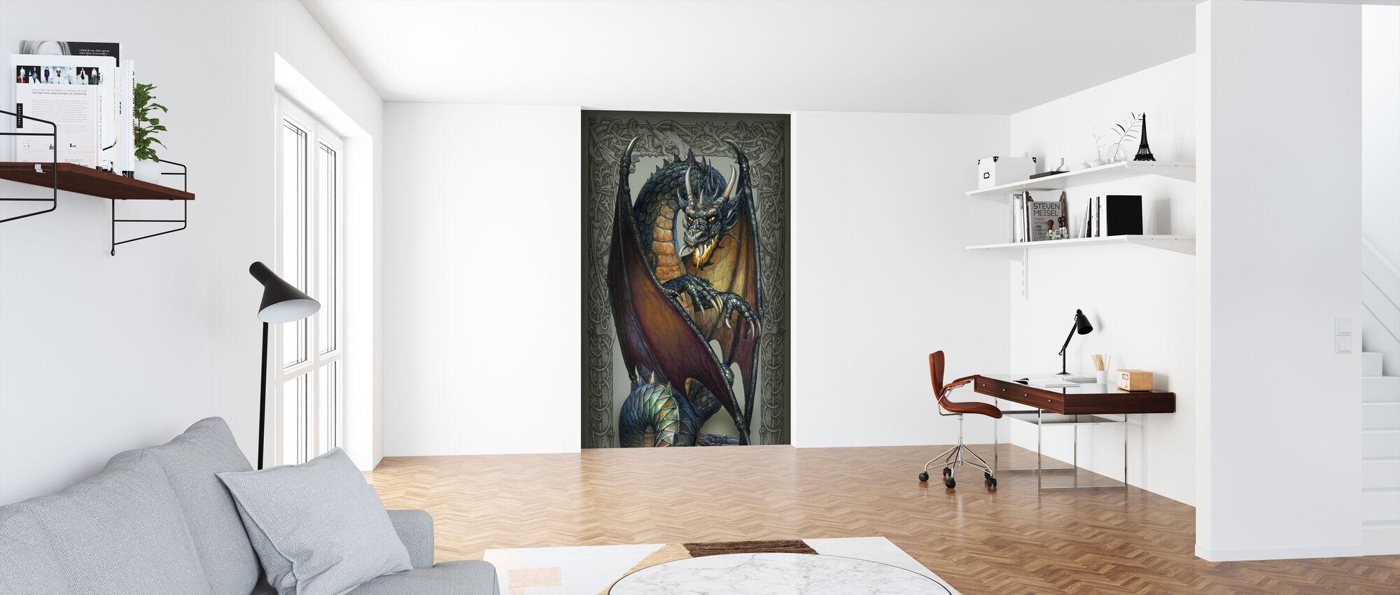 Earth Dragon - Wallpaper - Office