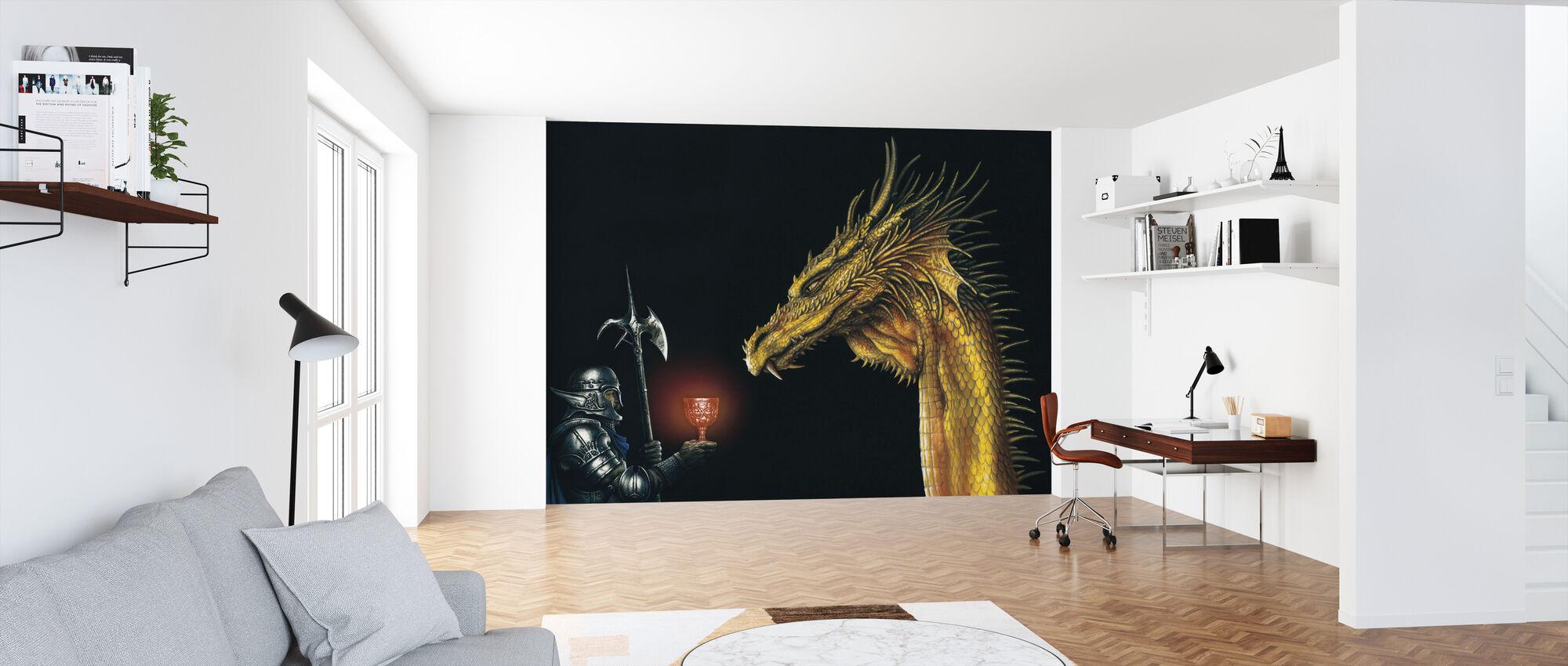 Oro - Wallpaper - Office