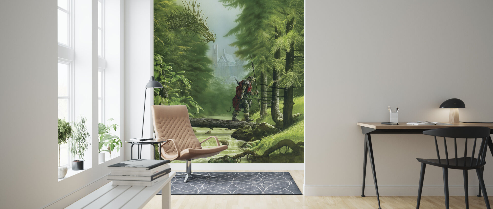 Cadmo - Wallpaper - Living Room