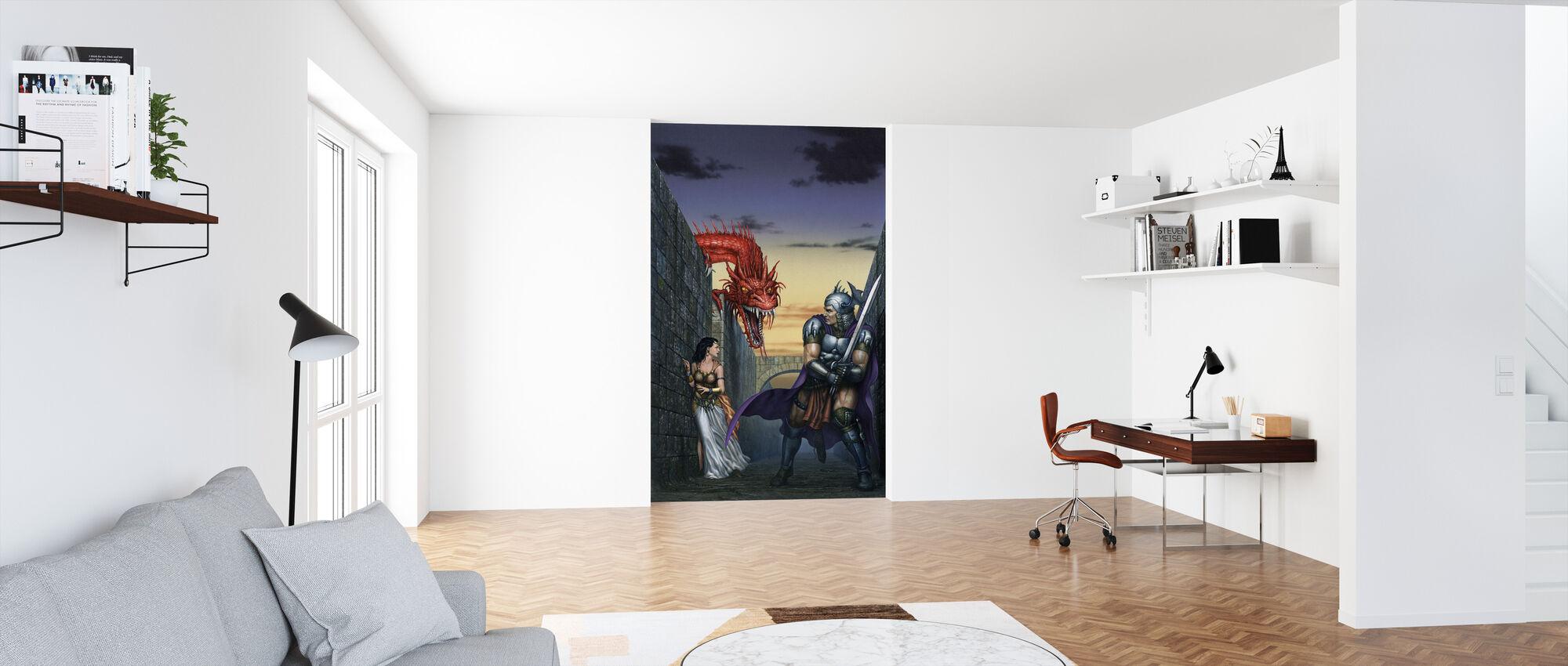 Maze - Wallpaper - Office