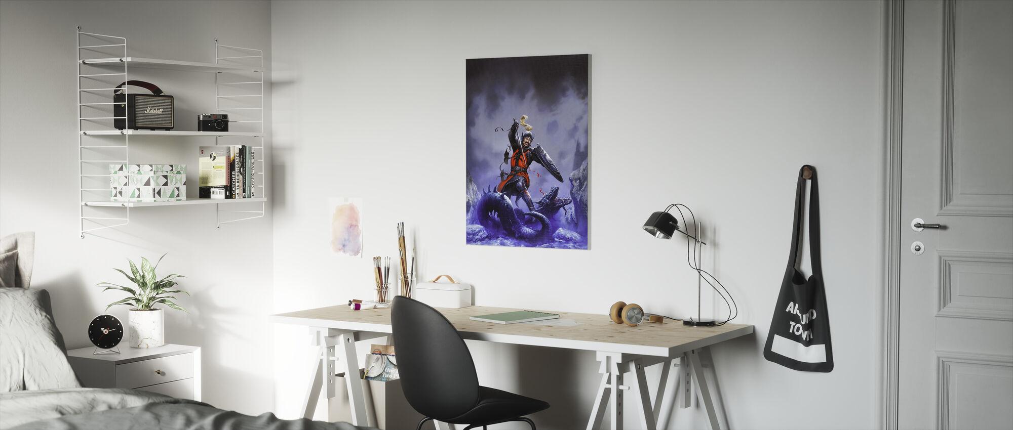 Lancelot - Canvas print - Kids Room