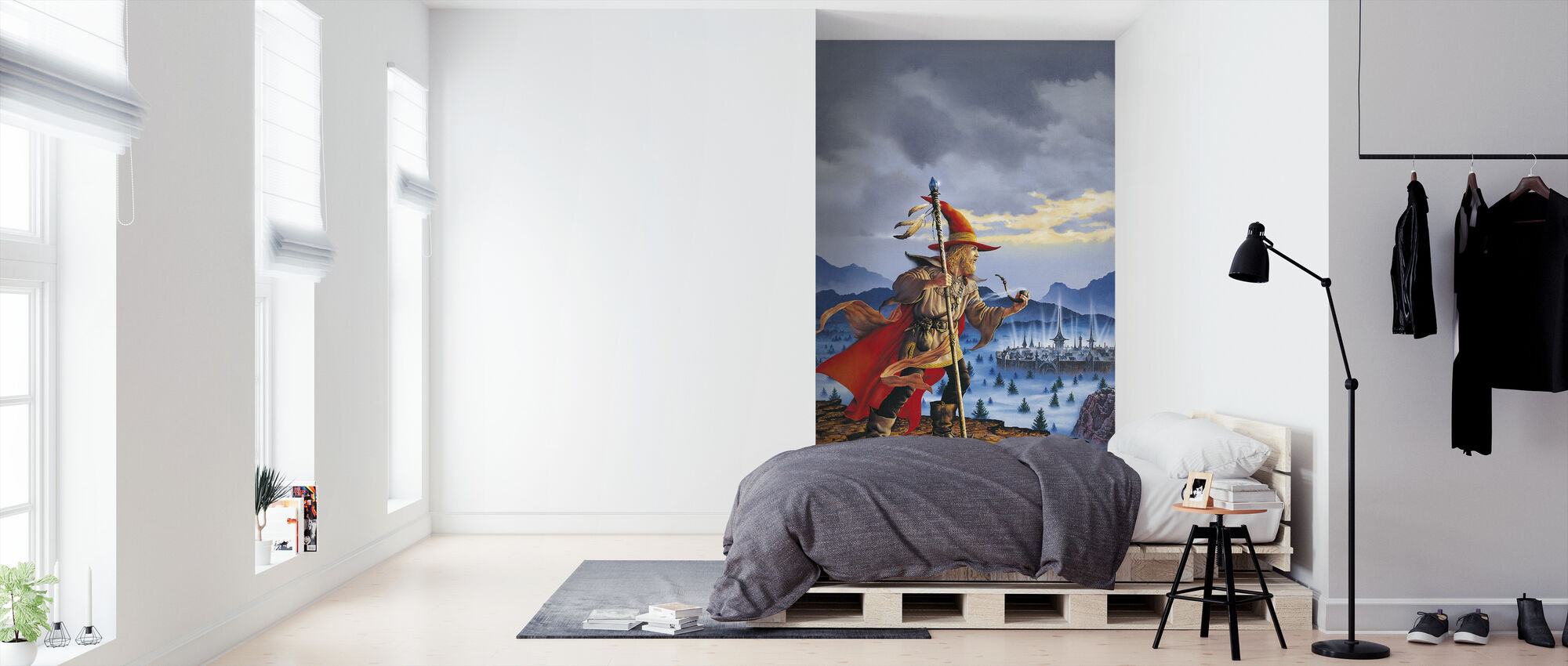 Elminster - Tapet - Soveværelse