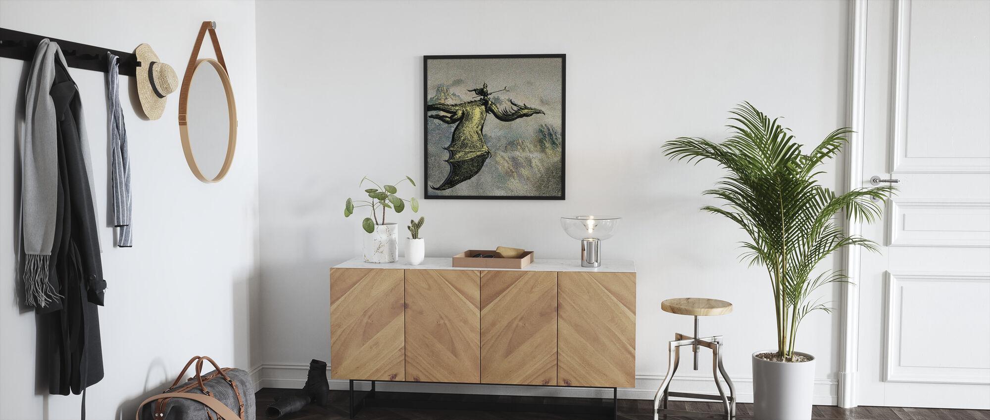 Jockey - Framed print - Hallway