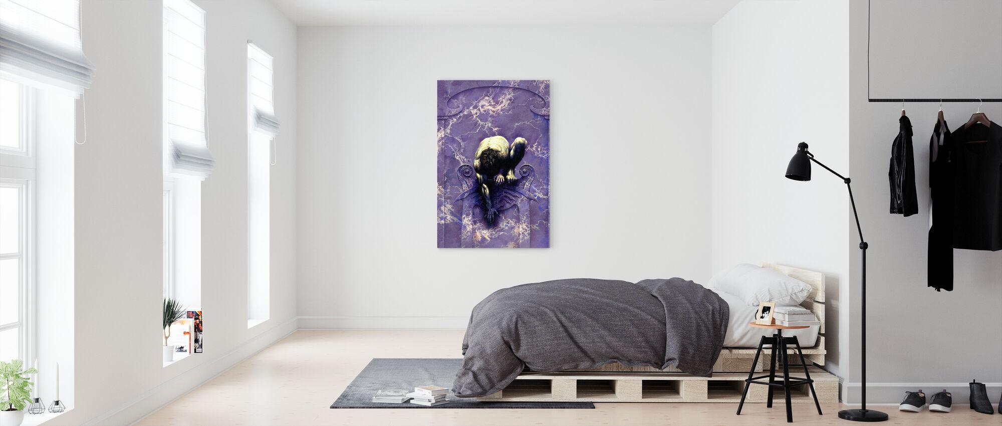 Aluxe - Canvas print - Bedroom