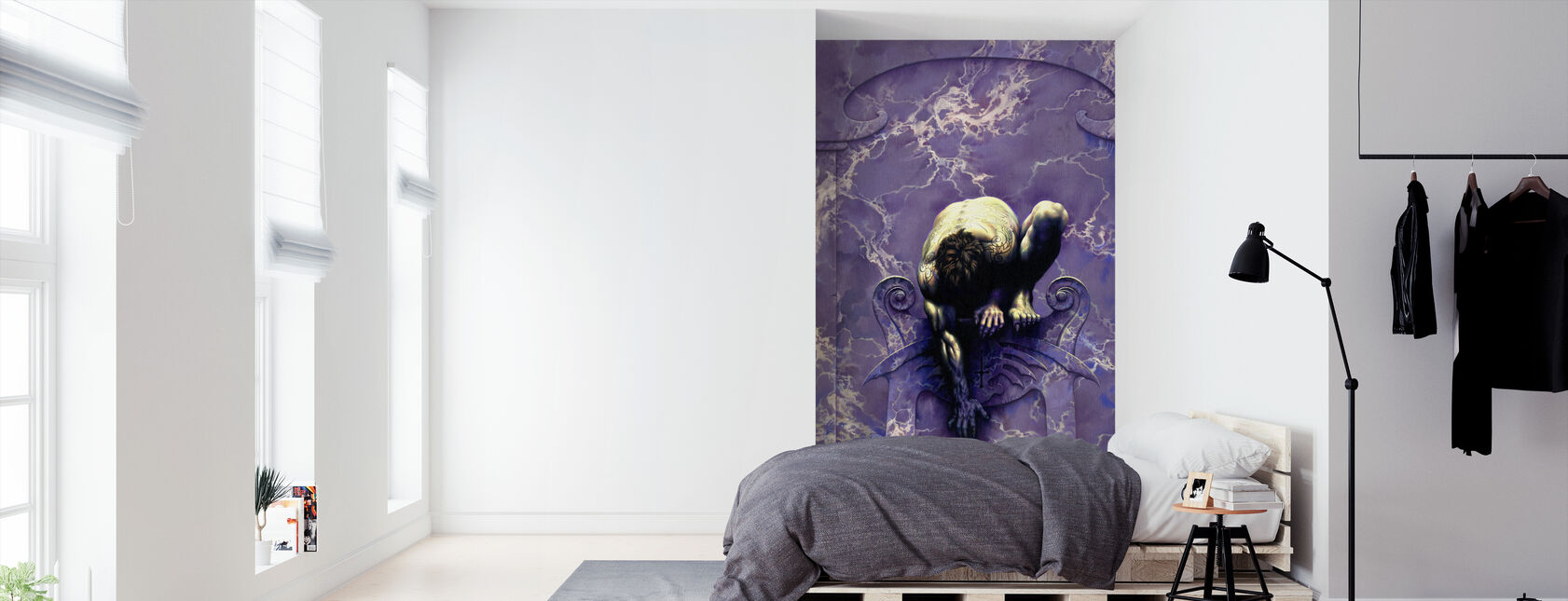 Aluxe - Wallpaper - Bedroom