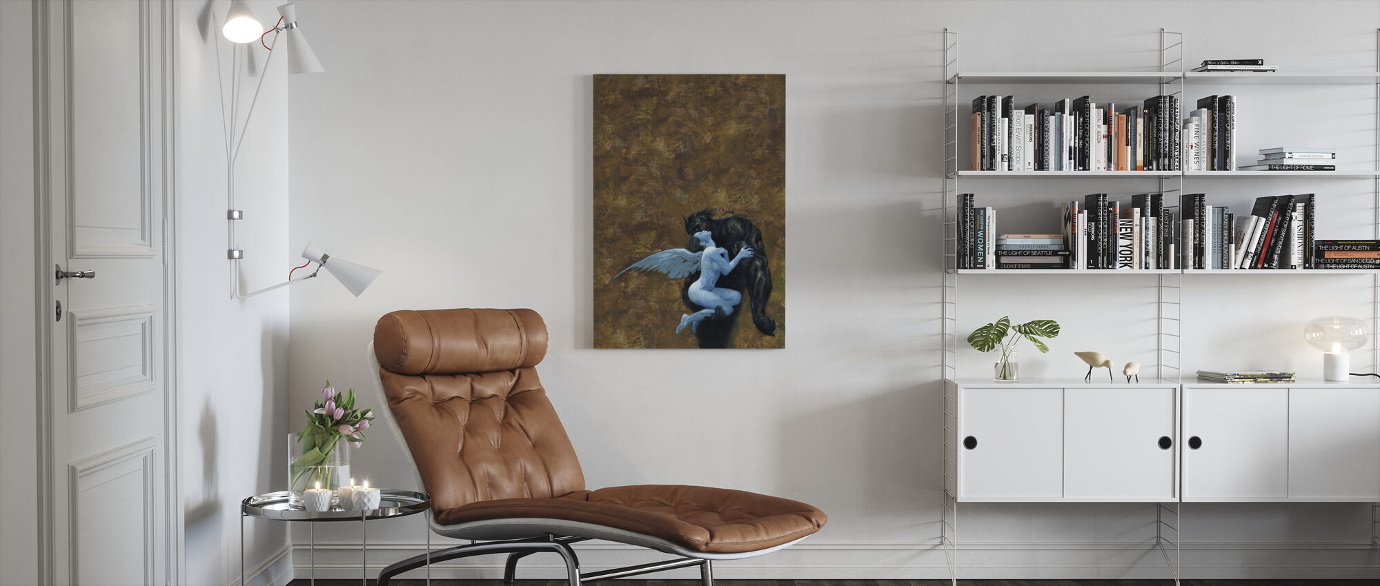 Beauty - Canvas print - Living Room
