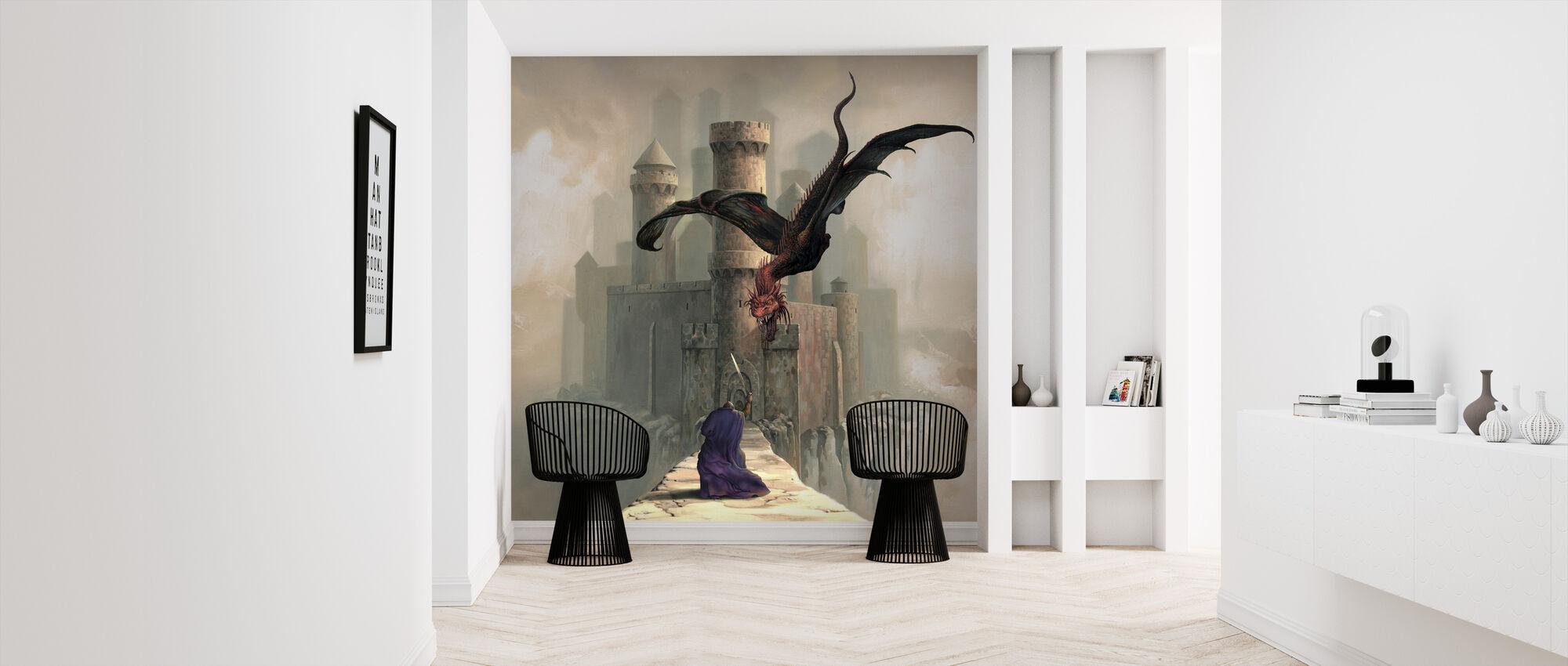Gates - Wallpaper - Hallway