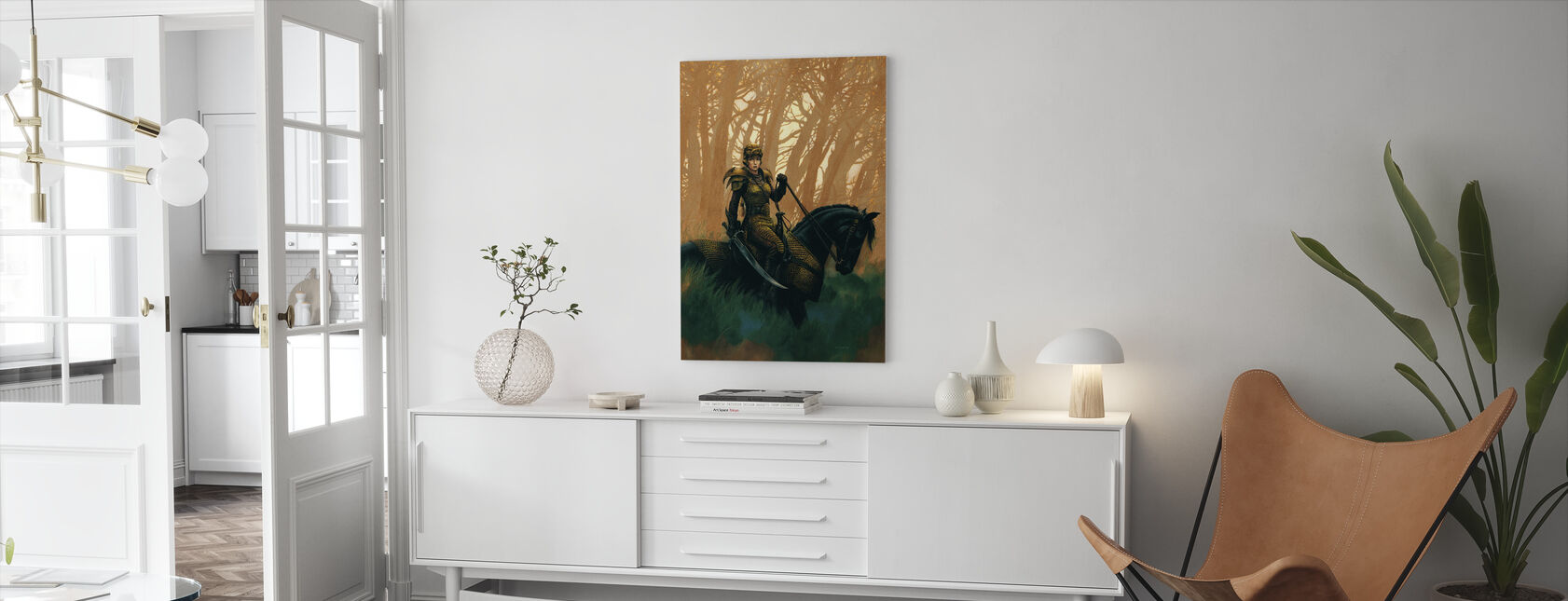 Draconis - Canvastavla - Vardagsrum