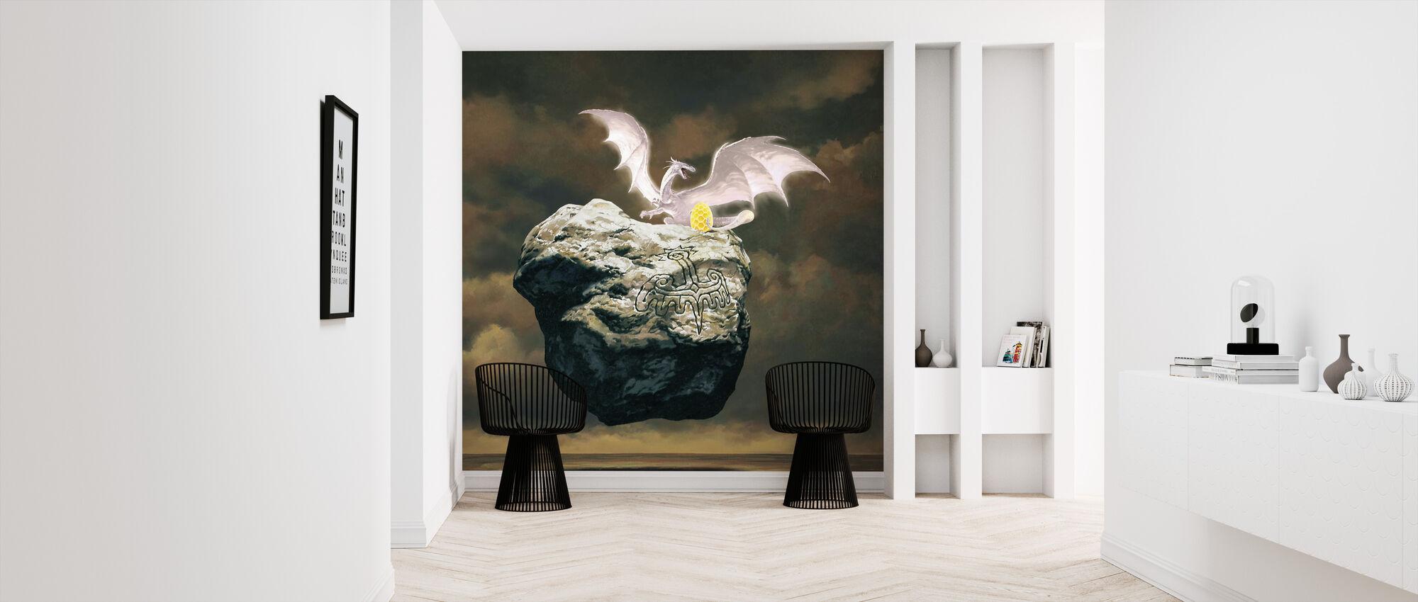 Dragoness - Wallpaper - Hallway