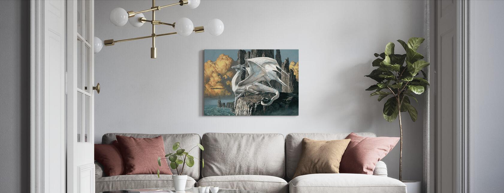 Hobsyllwin - Canvas print - Living Room