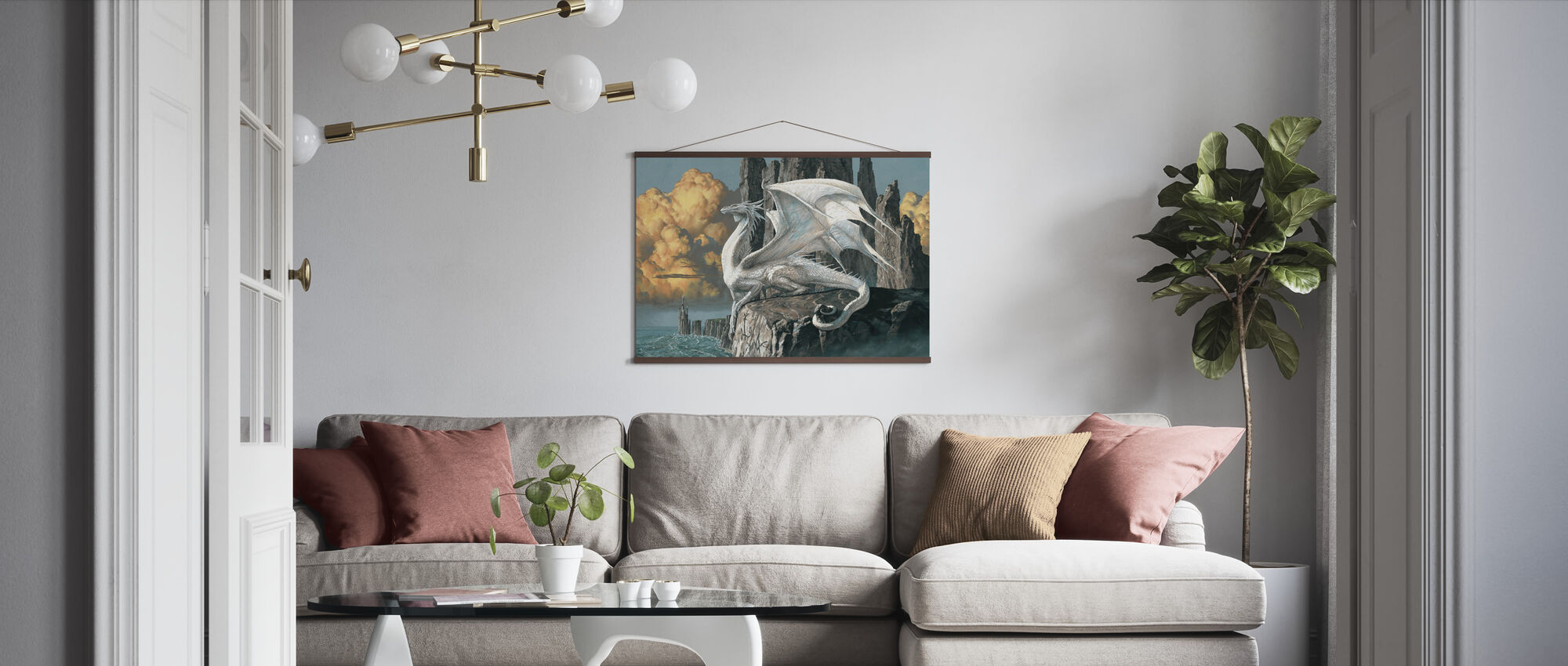 Hobsyllwin - Poster - Living Room