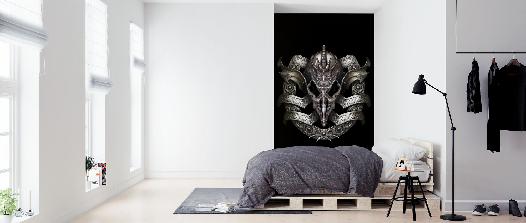 Escudo - Wallpaper - Bedroom