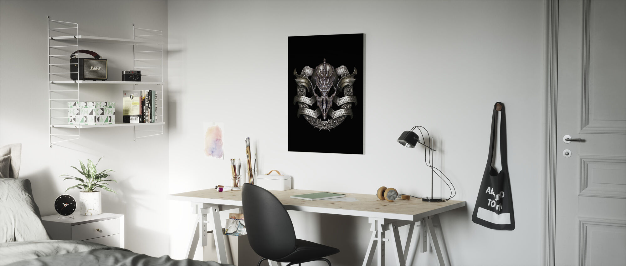 Escudo - Canvas print - Kids Room