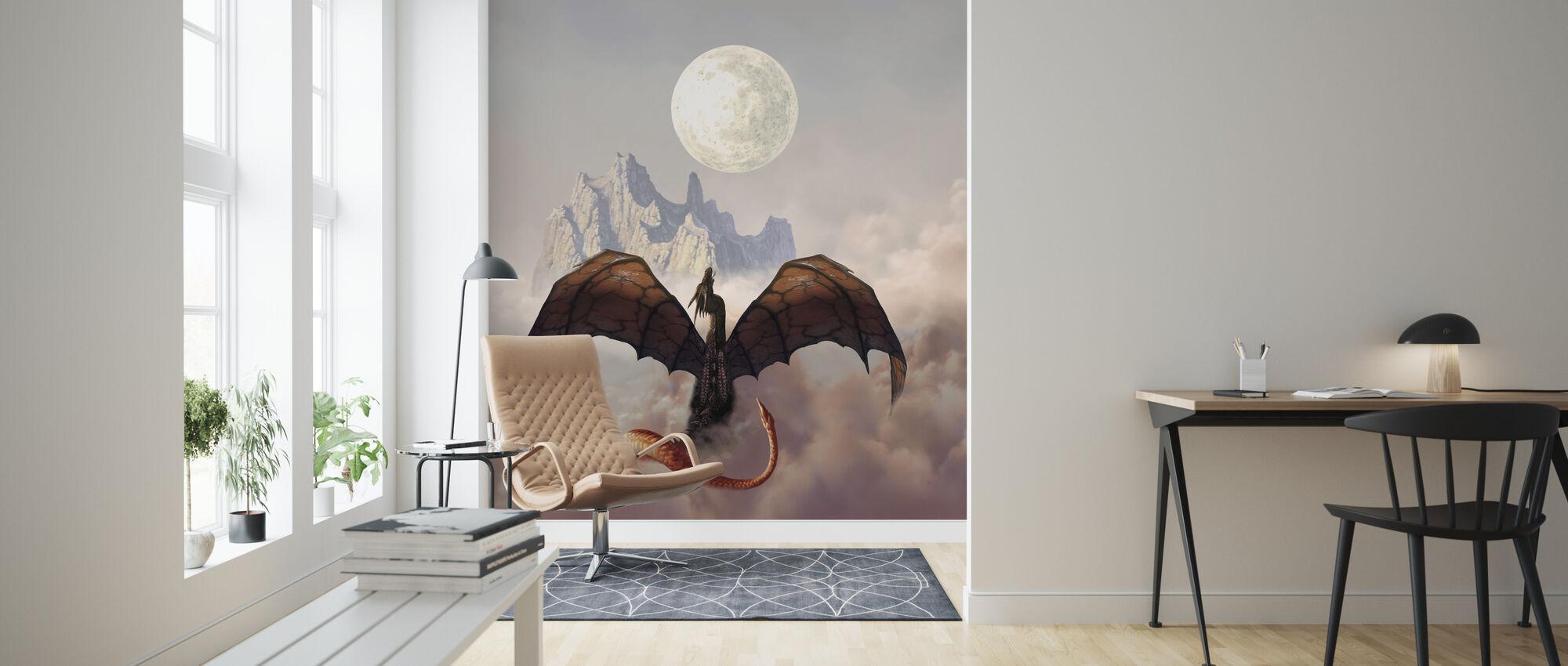 Luna - Tapet - Vardagsrum