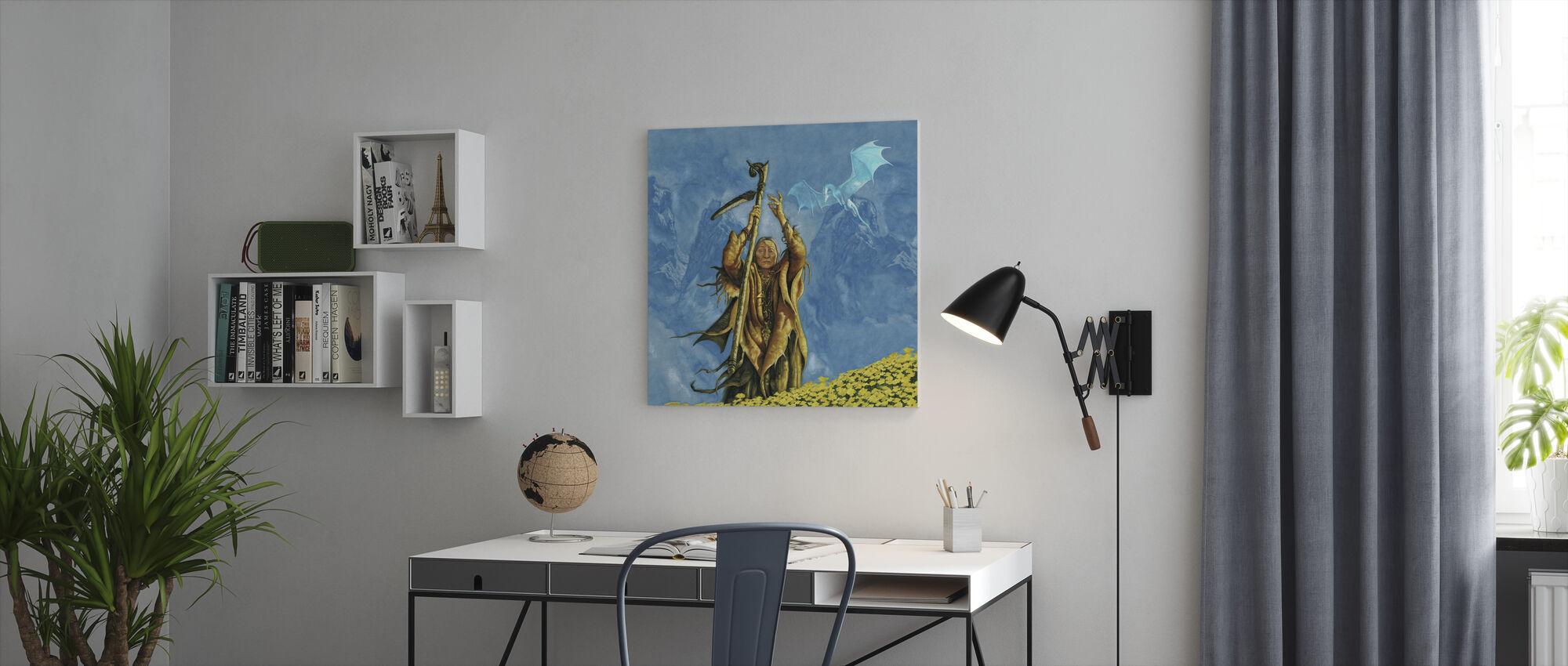 Elixana - Canvas print - Office