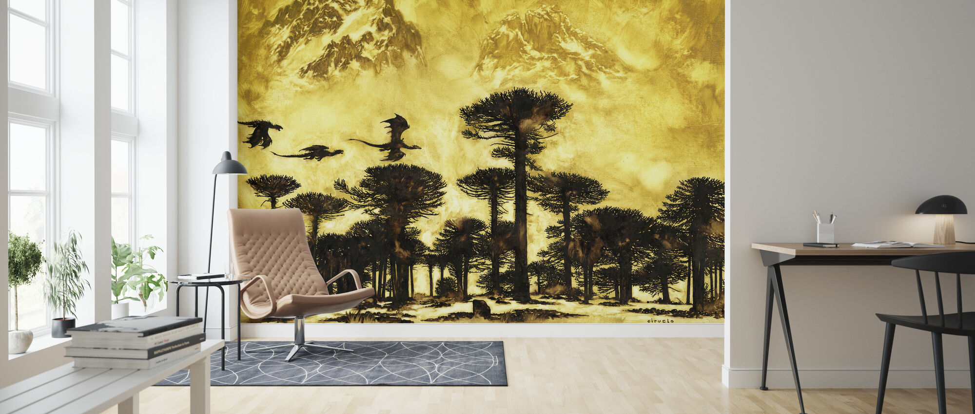 Persec - Wallpaper - Living Room