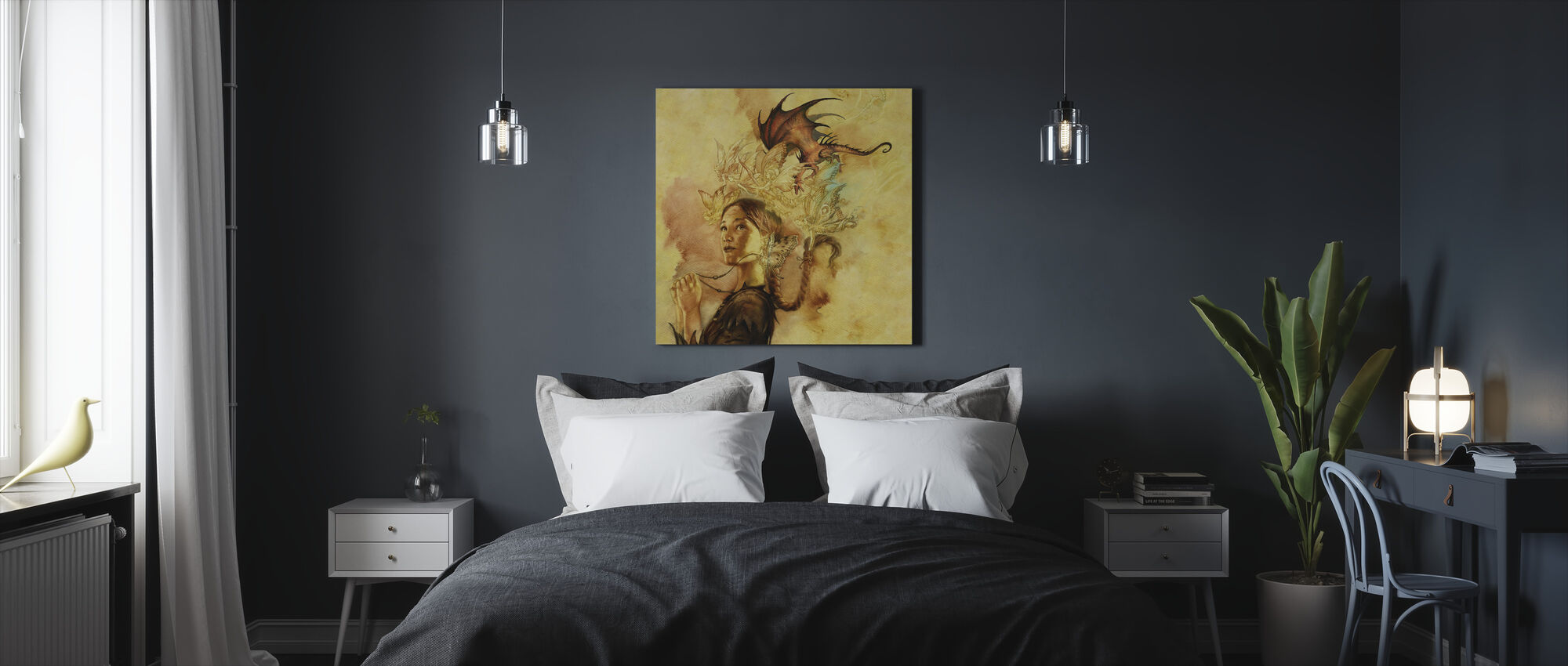 Yssala - Canvas print - Bedroom