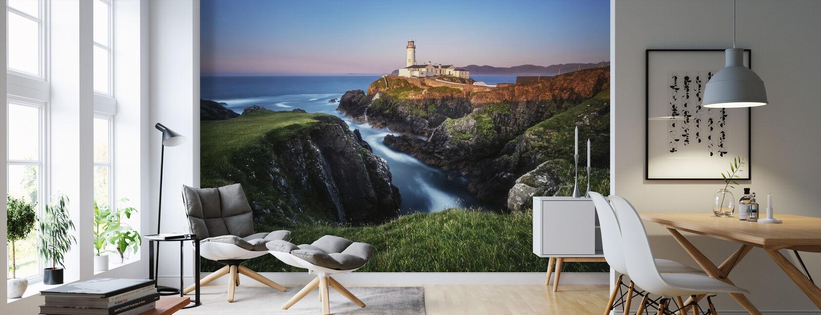 Ireland Fanad Head Lighthouse - Wallpaper - Living Room