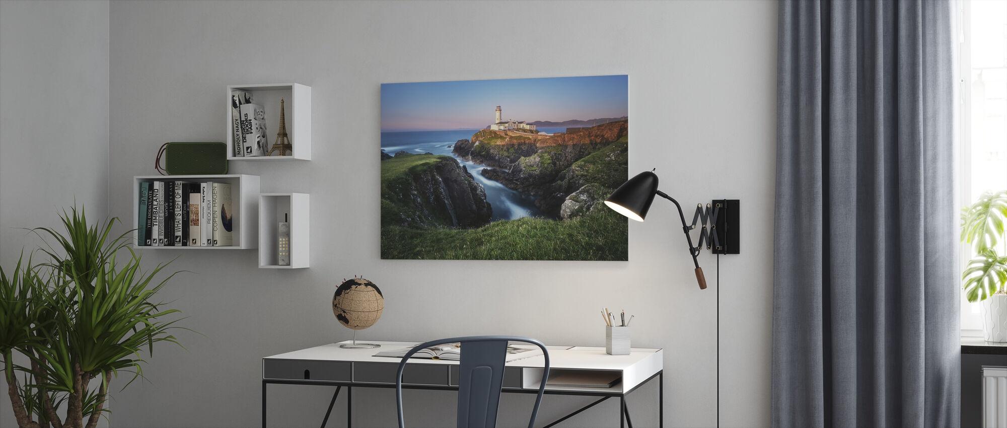 Ireland Fanad Head Lighthouse - Canvas print - Office