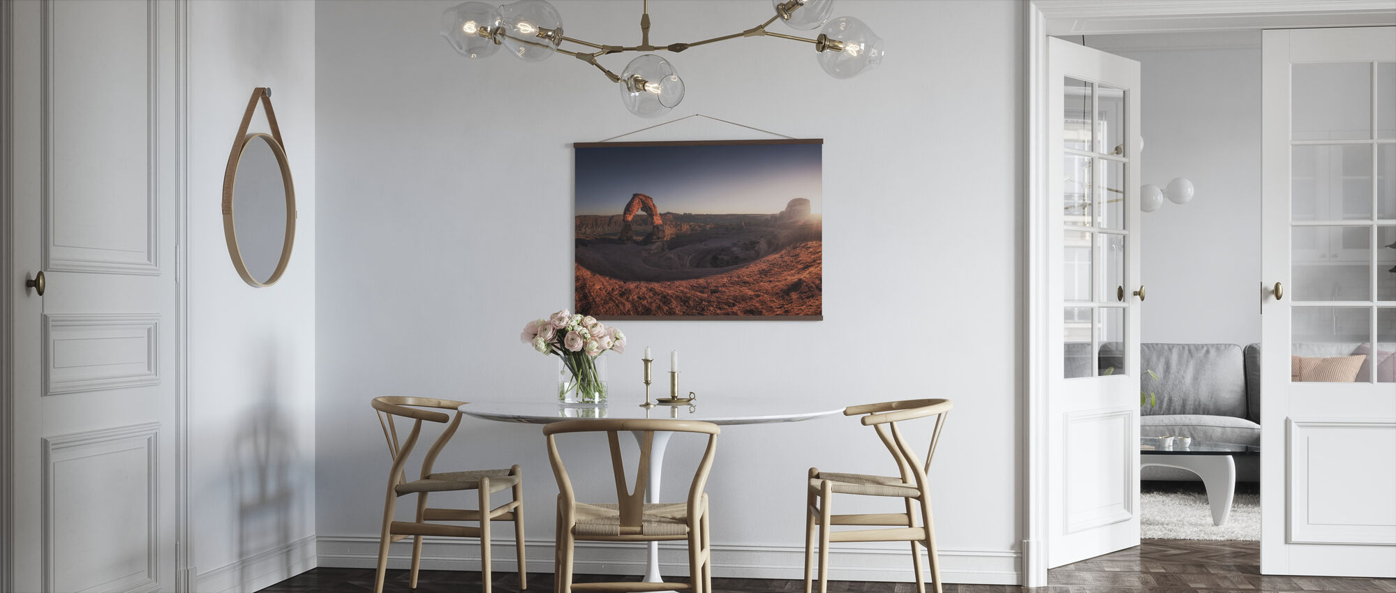 Delicate Light - Poster - Kitchen