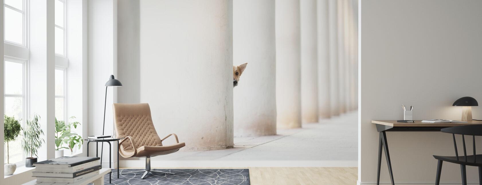 Bella und die Säulen der Erde - Tapete - Wohnzimmer
