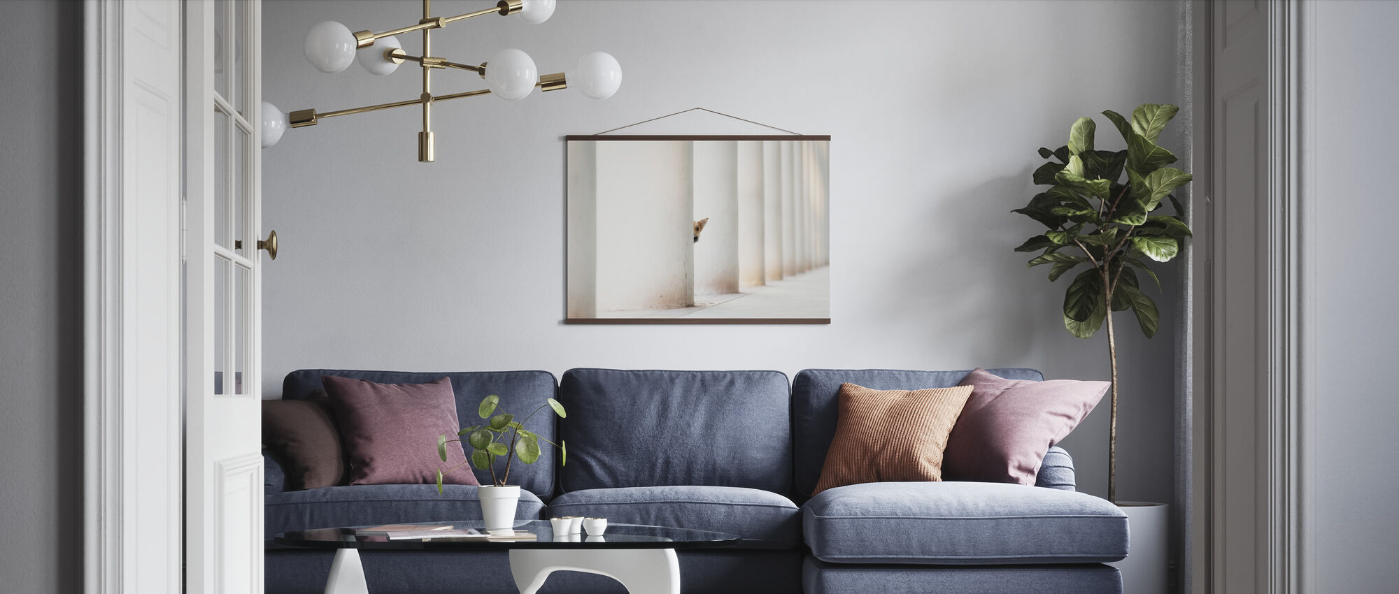 Bella and the Pillars of the Earth - Poster - Living Room