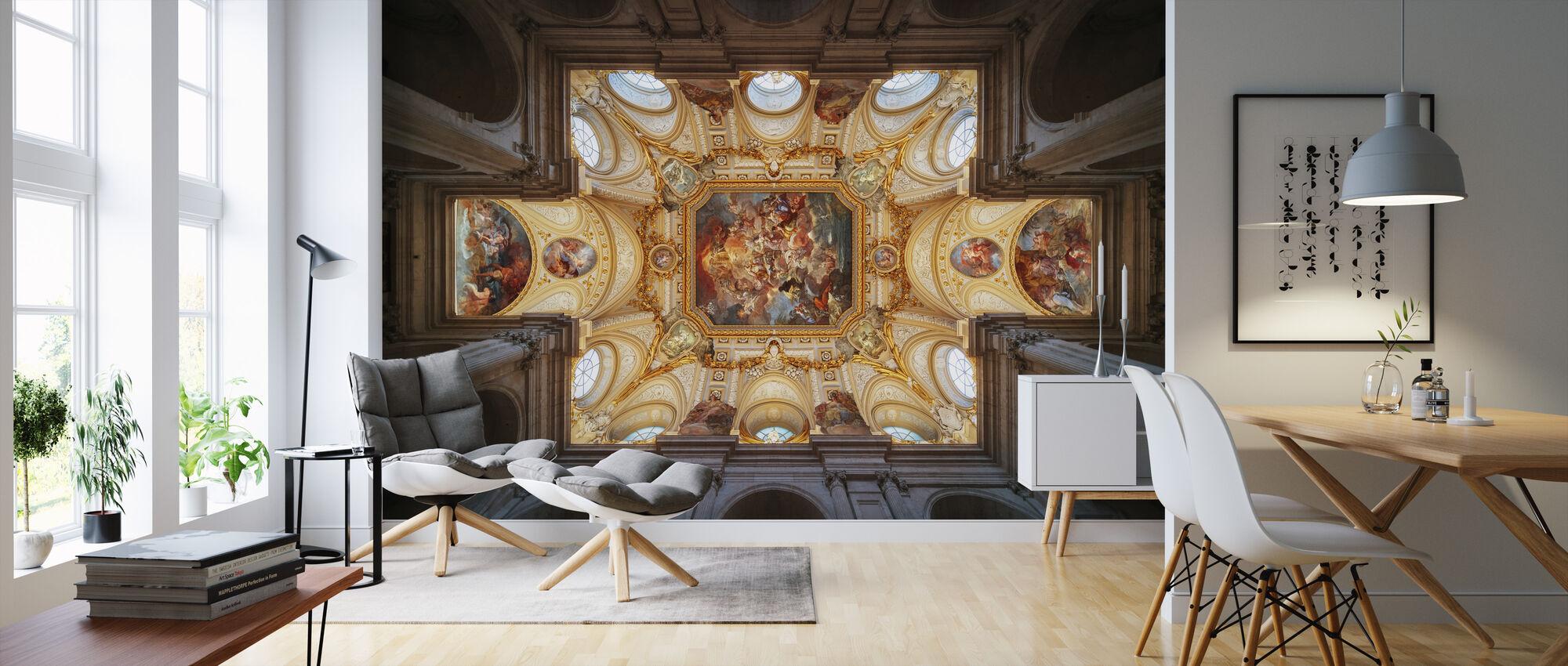 Ceiling Art - Wallpaper - Living Room