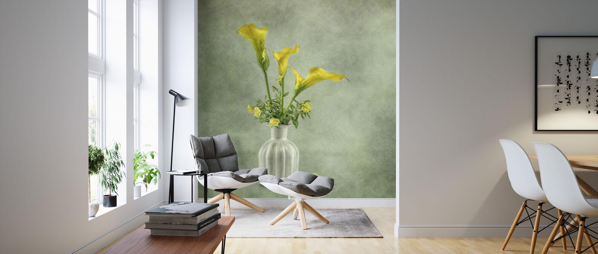 Calia Lillies - Wallpaper - Living Room