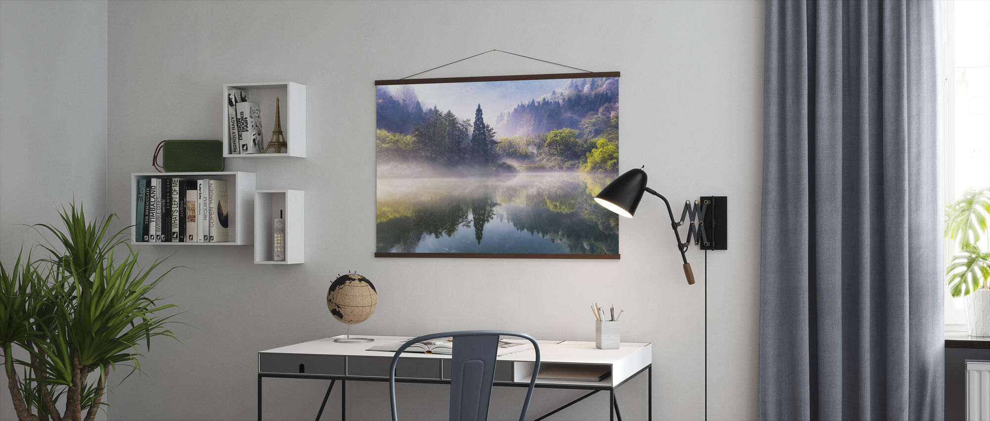 Lake Reflection - Poster - Office
