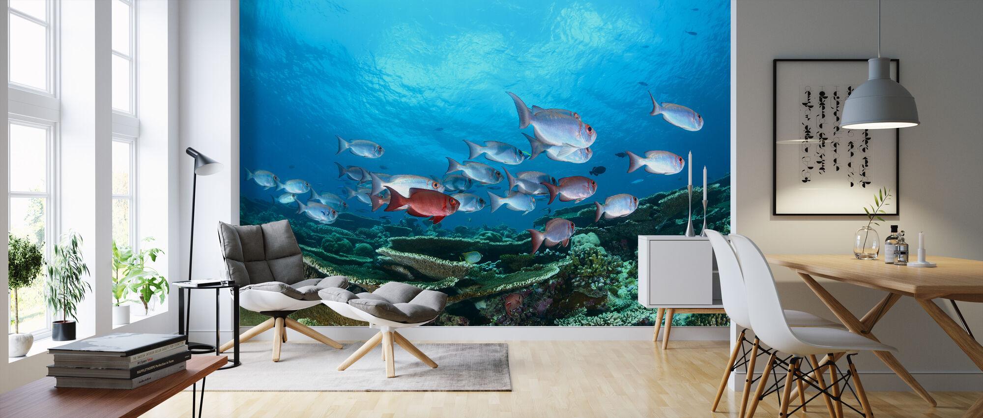 Enchanthed Gardens - Wallpaper - Living Room