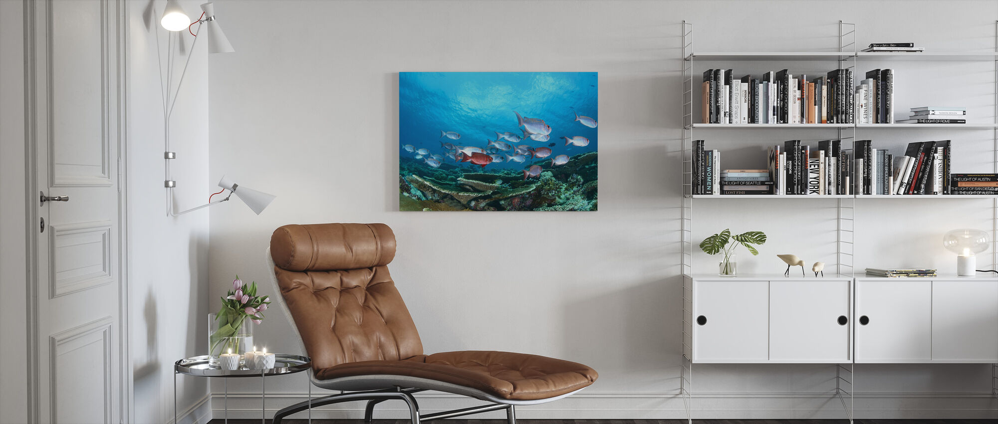 Enchanthed Gardens - Canvas print - Living Room