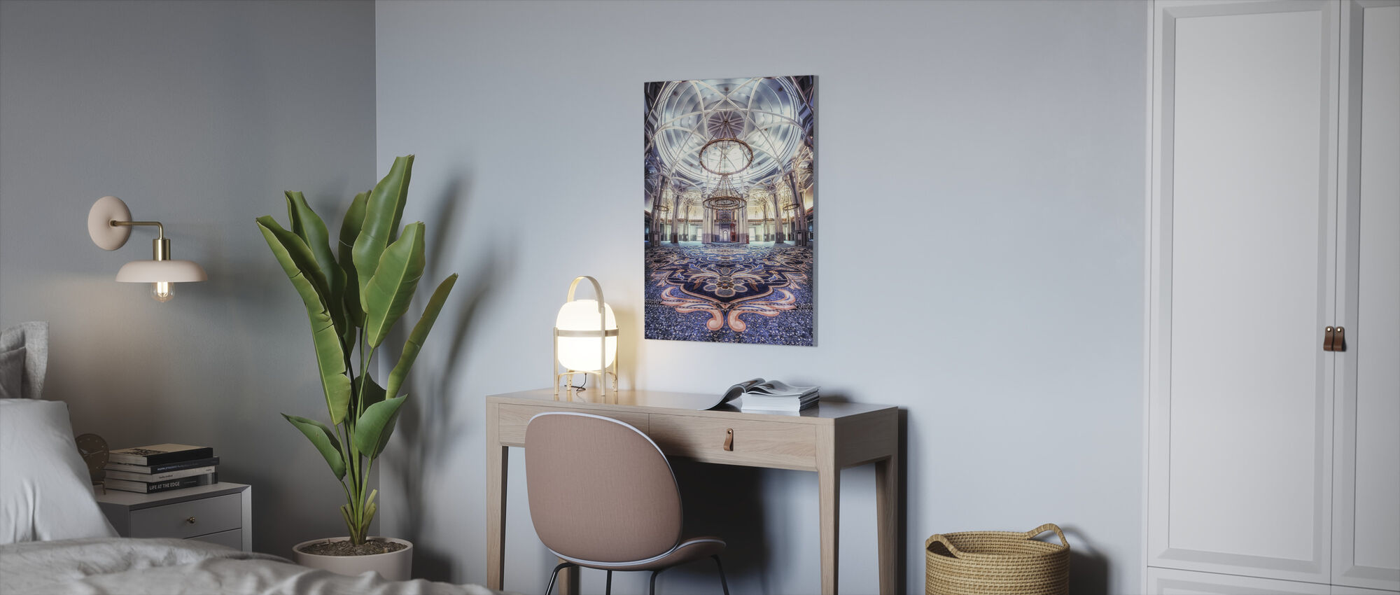 Rome Great Mosque - Canvas print - Office