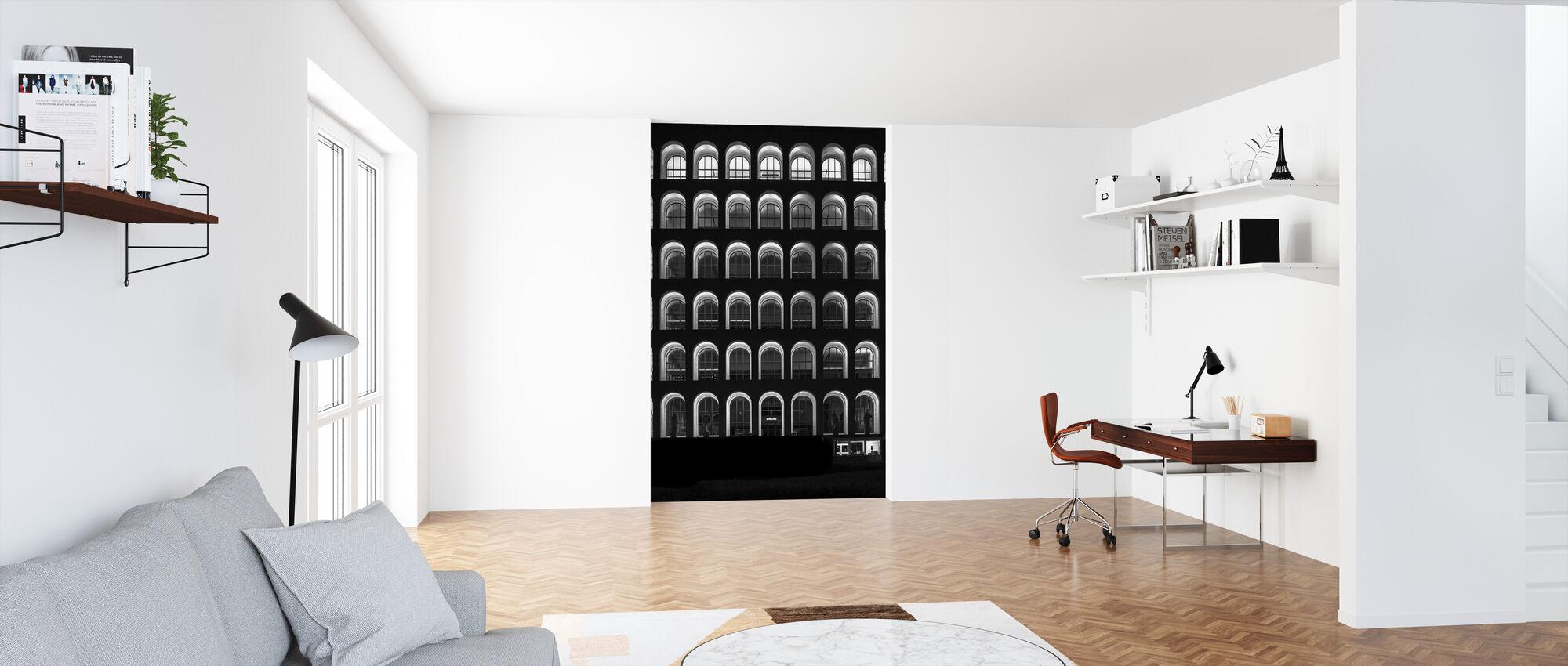 Palazzo Della Civilta Italiana - Wallpaper - Office