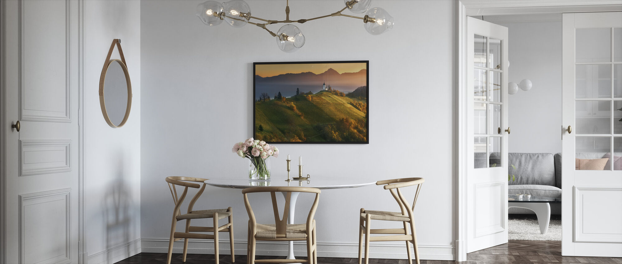 Autumn Light - Framed print - Kitchen