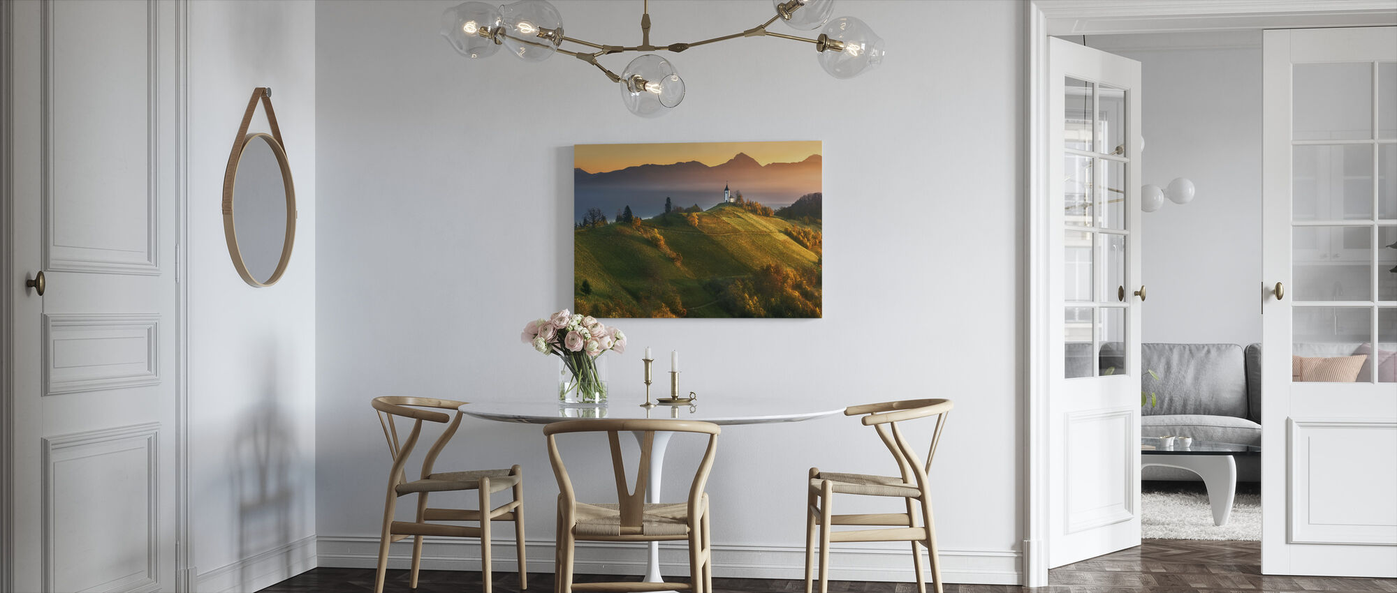 Autumn Light - Canvas print - Kitchen
